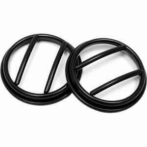 Rugged Ridge Fog Light Lens Guards Set Of 2 New For Jeep Wrangler Jk 11231 13