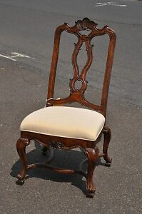 Four Drexel Heritage Tuscany Side Chairs Never Used