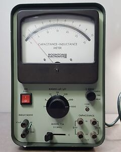 Boonton Electronics Model 71a Capacitance inductance Meter