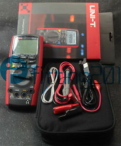 Uni t Ut71e Intelligent Digital Multimeter Tester Usb To Pc True Rms