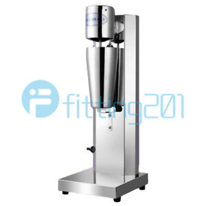 Commercial home Electric Soft Ice Cream Mixer Milkshake Cyclone Machine 220v New