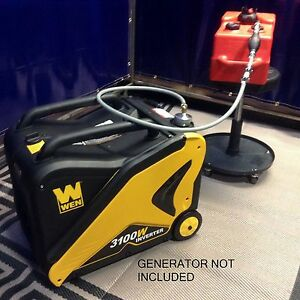 Wen 3100w Inverter Generator 3 Gallon Extended Run Fuel System