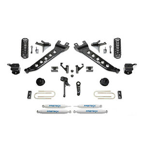 Fabtech K3147 7 Radius Arm System W Performance Shocks For Ram 3500 4wd