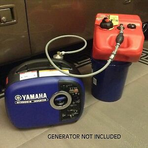 Yamaha Ef2000is Inverter Generator 6 Gallon Extended Run Fuel System