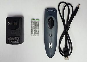 Socket Mobile 7ci Bluetooth Scanner cx2870 1409 With New Recharge Aaa Battery