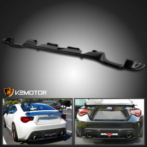 For 2013 2017 Scion Frs Subaru Brz Toyota Gt86 Rear Bumper Diffuser Lip Spoiler