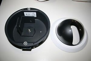 Pelco Df5s 1 Fixed Mount Indoor Housing Clear Dome Shortened Back Box No Parts