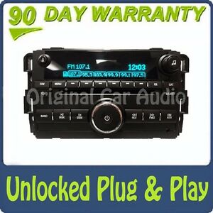 Unlocked Gmc Chevy Buick Radio Aux Usb Mp3 Cd Player Uui Stereo Receiver Oem