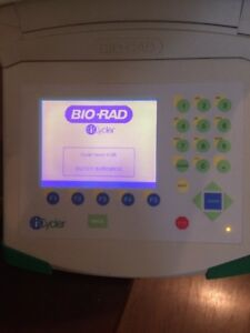 Bio rad Icycler Pcr Thermal Cycler 96 well Reaction Module