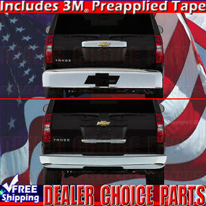 2007 2014 Chevy Suburban Tahoe Chrome Upper Lower Liftgatetailgate Handle Covers