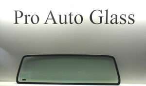 Rear Back Stationary Window Glass 1986 1997 Ford Ranger Standard Cab Only