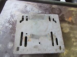 Clausing Drill Press Motor Base Assembly Part 18 50x