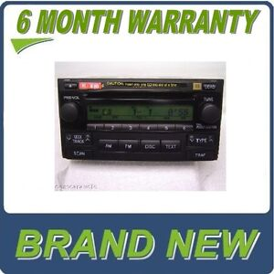 New 04 05 06 07 Toyota Matrix 6 Disc Changer Cd Player Jbl Radio Stereo A51818