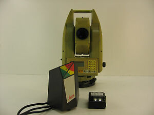 Leica Tc805l 5 Total Station For Surveying One Month Warranty