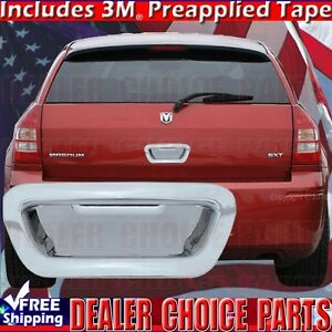 2005 2008 Dodge Magnum 2004 2008 Chrysler Pacifica Chrome Tailgate Handle Cover