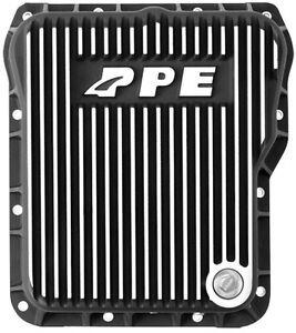 Ppe Deep Transmission Pan 01 16 Duramax Allison 1000 2000 2400 Trans Brushed
