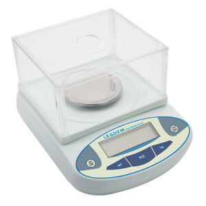 Lcd Lab Analytical Balance Digital Scale 300 X 0 001g 1mg Experiment Technical