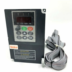 1 5kw Single 1 Phase 220v Input 7a Vc V f Control Vfd Variable Frequency Drive