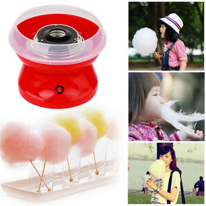Mini Portable Electric Diy Sweet Cotton Candy Maker Sugar Machine Party Supply