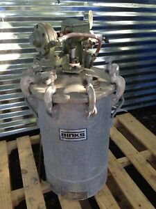 Binks 83 5307 110 Psig P s i g Spray Pressure Tank Pot