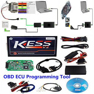 Kess V2 V5 017 Obd2 Auto Car Truck Bike Ecu Programmer Tool No Tokens Limitation