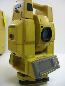 Topcon Gpt 8205a Robotic Total Station W Ranger 200c One Month Warranty