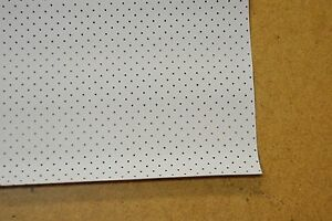 1960 60 Only Ford Falcon Station Wagon White Perforated Headliner Usa Made