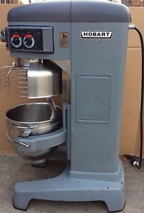 Single Phase Very Nice Hobart Hl600 Legacy Mixer With Ss Bowl And Dough Hook