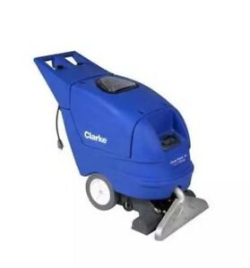 Clarke 56266000 clean track 16 wash rinse carpet extractor