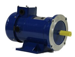 50 Hp 24v Newport 56c footed Permanent Magnet Motor
