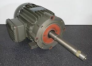 Weg 2 Hp 3600 Rpm Tefc 200 400 Volts 145jp 3 Phase Motor New Surplus