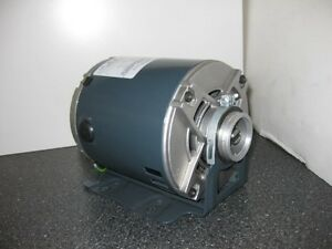 1 3 Hp 1800 Rpm Odp 230 Volts Marathon 48y slotted Shaft 1 Phase Motor New