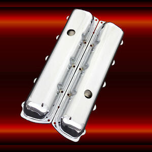 Valve Covers For Oldsmobile Engines 330 350 455 Chrome Factory Height Olds