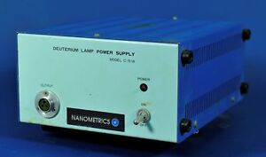 579 Nanometrics Hamatmasu Deuterium Lamp Power Supply C1518