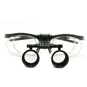 2 5x 3 5x Surgical Dental Medical Binocular Loupes Variable Magnification Dy 113