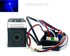 Industrial Blue Lasers 445nm 450nm 120mw Dot Diode Module W driver Out