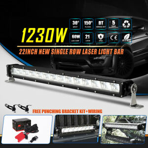 Quad Row 22inch 1200w Cree Curved Led Work Light Bar Combo Offroad 24 23 20