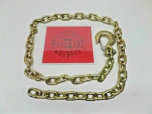 Auto Body Frame Machine Pull Chain 3 8 X 6 Grade 70 With 3 8 Clevis Slip Hook