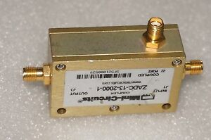 Used Mini circuits Coupler Zadc13589 198 Sma