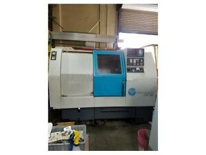 1995 Clausing Colchester Lathe Cnc 200 Fanuc Ot 8 Chuck Under Power