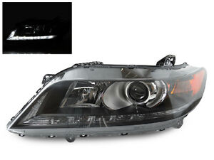 Left Side Replacement Headlight Fits 2013 14 15 Honda Accord 2d Coupe V6 3 5l