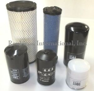 Mahindra Tractor Economy Pack Of 6 Filters 0455 0456 8803 8618 12 2100 15 2100