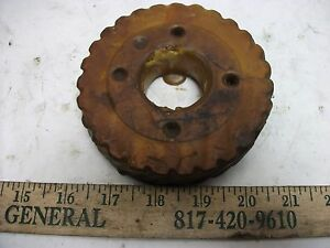 Kearney Trecker Feed Worm Wheel sm g57