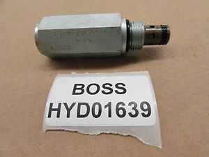Boss Snow Plow Valve Relief V Plow 2800 Psi Hyd01639 Snow Plow Rt3 V Blade