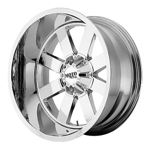 4 Moto Metal 20 Inch 20x10 Mo962 Chrome Rims Ford 8x170 24mm Mo96221087224n