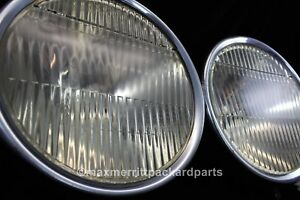Pair Vintage Parabeam Headlights 6v W Parking Lights Rat Rod L K