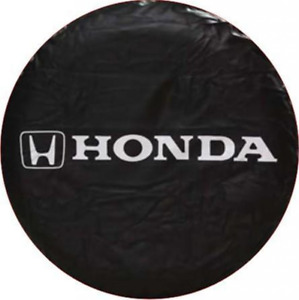 For Honda Crv Special Pvc Leather Spare Tire Cover Black 15 Inch Spare Tire Cove
