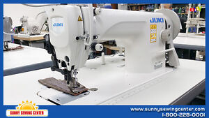 Juki Du 1181n Top And Bottom Feed Walking Foot Leather Sewing Machine new