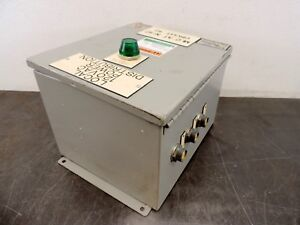 Saginaw Control Sce Ax 436398 Electrical Enclosure 12 X 10 X 8 Connection Box