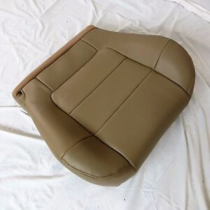 2000 02 Ford F 150 Lariat Pickup Xl Driver Bottom Leather Seat Cover Tan H H